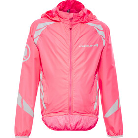 Endura Luminite II Jacket Kinder hi-viz pink/reflective